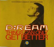 Maxi CD - D:Ream - Things Can Only Get Better - #A2459