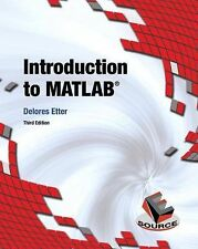 Introduction to MATLAB by Delores M. Etter ,3E