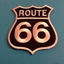 Route 66 Sew/iron On Patch Bike/motorcycle/car/usa/highway/road//tour/car/truck