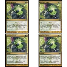 4 x SELESNYA CHARM NM mtg Return to Ravnica Gold - Instant Unc