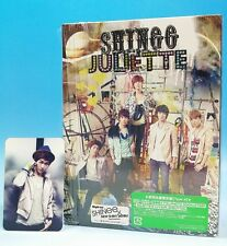 CD+DVD+Playbutton SHINee JULIETTE JAPAN Limited Edition with Photo card Onew