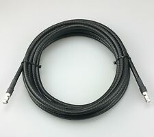 50 Foot Belden 9011 RG-11, Low Loss 75 Ohm TV, CATV Coax Cable with F Connectors