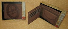 PORTAFOGLIO SPORTS  GUINNES in pelle MARRONE   cod.11685