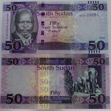 SOUTH SUDAN 50 POUNDS 2015 / 2016 P NEW SIGN UNC