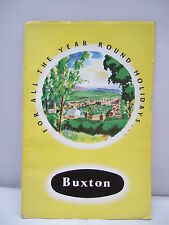 Buxton - For All the Year Round Holidays - Official Guide - Illust