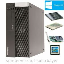 Dell T3600 Workstation Xeon 8-Core E5-2665 RAM 16GB HDD 1TB Quadro 600 Windows10