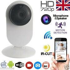 720P p2p Indoor WiFi Wireless IP CCTV Camera Baby IR Night Vision Cam With App