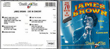 CD JAMES BROWN LIVE IN CONCERT COLLECTION DOUBLE PLAY