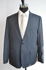 NAVY BLUE ELIE TAHARI JACKET SIZE 44R 100% WOOL