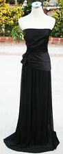 NWT Max and Cleo $208 Black Pageant Formal Prom Gown 6