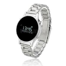 J1 Bluetooth Smart Wrist Watch Metal Strap Phone Mate For Android IOS Samsung