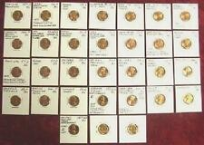 BU 26 DIFFERENT Error/Variety Cents GREAT VALUE No Res!