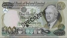 Provincial Bank of Ireland Limited 100 Pound 1.3.1981 P 251s Specimen not listed