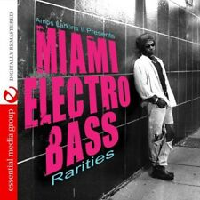 Amos Larkins Ii Presents Miami Electro Bass Rariti - Amos I (2013, CD NEUF) CD-R