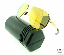 ic! berlin Sunglasses Guenther N. Gold Metal Frames / Gold Mirror Lens Authentic