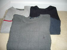 LOT OF 3 MEN'S SWEATERS SIZE XL
