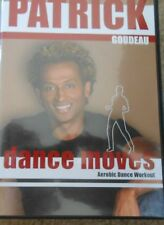 Patrick Goudeau Dance Moves Aerobic Workout DVD Dancing Cardio Fitness Exercise