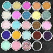 24 Colors Tiny Beads Balls Pearls for UV Gel 3D Acrylic Nail Art Caviar Manicure