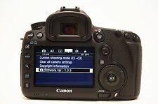 Canon EOS 5D Mark III 22.3MP Digital SLR Camera - Black (Body Only) With extras.