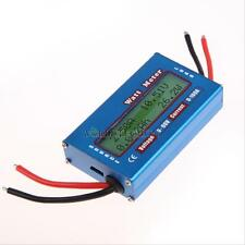 Digital 60V 100A DC Power Analyzer Watt Volt Amp Meter Solar Wind Ammeter