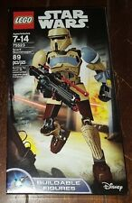 Brand New Lego Star Wars 89pc SCARIF STORMTROOPER Buildable Figure ~Item# 75523~