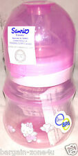 Hello Kitty Newborn baby Girl Pink Feeding Wide Neck Bottle 120ml BPA Free