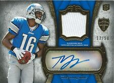 (HCW) 2011 Topps Supreme Autograph Relics $30 TITUS YOUNG 13/50 Jersey 01036