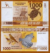 French Pacific Territories, 1000 Francs ND (2014) P-New, UNC