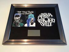 SIGNED/AUTOGRAPHED THE TING TINGS - SOUNDS FROM NOWHERESVILLE FRAMED CD. RARE