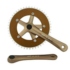 Brown Shun 48T Alloy 170 Single Speed Fixed Gear Track Fixie Crankset Crank Set