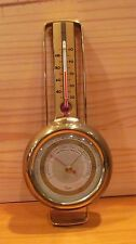 Vintage TAYLOR INSTRUMENTS STORMOGUIDE BRASS WALL MOUNT WEATHER STATION