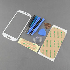 Front Outer Screen Glass Replacement Cover Case for Samsung S3 i9300 FREE Tools