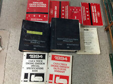 1994 Ford Crown Victoria & Lincoln Town Car Service Shop Manual Set OEM W LOTS