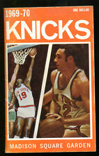 1969-70 New York Knicks Press Media Guide Reed Champs Ex 15662