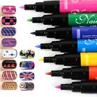 Nail Art Pen Painting Design Tool Drawing Gel Made Easy 16 colors to Choose B20E