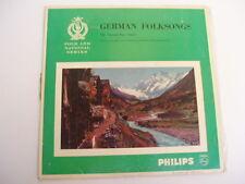 VIENNA BOYS CHOIR - GERMAN FOLKSONGS - MONO FN1 RARE LP