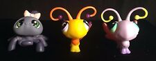 Littlest Pet Shop LSP 3 Insect Lot: Spider #329 and Butterfly #801 #93