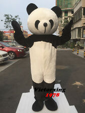 Deluxe Big Head Panda Bear Mascot Costume Animal Costume Free Shipping