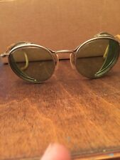 Vintage Steampunk/Safety/WWII Motorcycle Goggles/Glasses Matsuda  Green