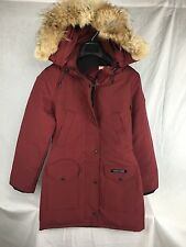 NEW CANADA GOOSE TRILLIUM DOWN PARKA JACKET L WOMENS AUTHENTIC NIAGRA JACKET