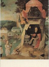 Alte Kunstpostkarte - Hieronymus Bosch - Verzoeking van de heilige Antonius