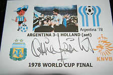 OSSIE ARDILES ARGENTINA 1978 WORLD CUP WIN SIGNED ENVELOPE 2