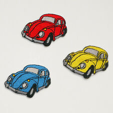 BEETLE VOLKSWAGEN VW  Patch Set - Set of 3 Different Classic Car Patches - NEW