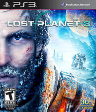 Lost Planet 3  PS3 SONY PlayStation 3 NEW Game