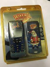 Nokia 8210 Santa Claus & Rudolph Covers Set Front & Rear plus Keypad HNK82RUDSST