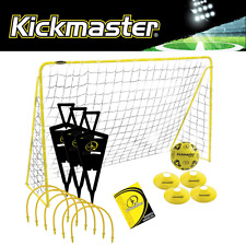 """NEW 2017"" KICKMASTER ULTIMATE CHALLENGE FOOTBALL TRAINING SET GOAL, BALL & MORE"