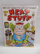 Neat Stuff Comic Book Magazine by Peter Bagge Girly-Girl & The Bradleys