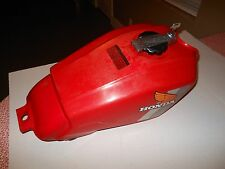 Honda 1982-83 FT500 ASCOT FT500 Gas Tank Scarlet Red Cell Petcock Gas Cap & Key