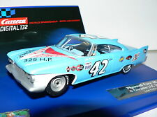 Carrera Digital 132 30493 Plymouth Fury 1960 Chrysler LLC  Lee Petty Neu