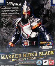 S.H. Figuarts Masked Kamen Rider Blade Broken Head Exclusive Action Figure USA